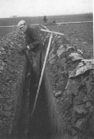1936, drainage Jaap Hoekstra