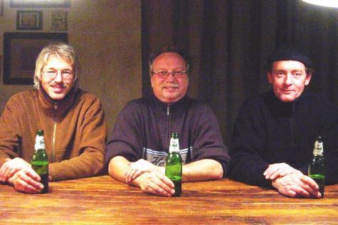 Gyn Idee, v.l.n.r: Dirk Schat, Jan Braaksma en Tom Blokland